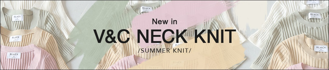 New in V&C NECK KNIT /SUMMER KNIT/